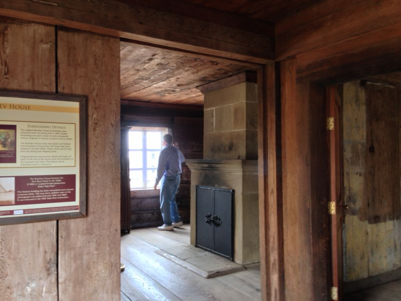 NO. 5 FORT ROSS - The Rotchev House interior