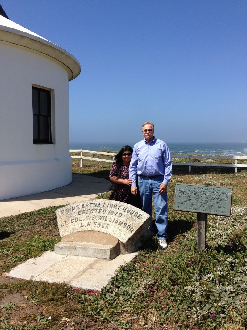 NO. 1035 Point Arena Light Station - Private Plaques