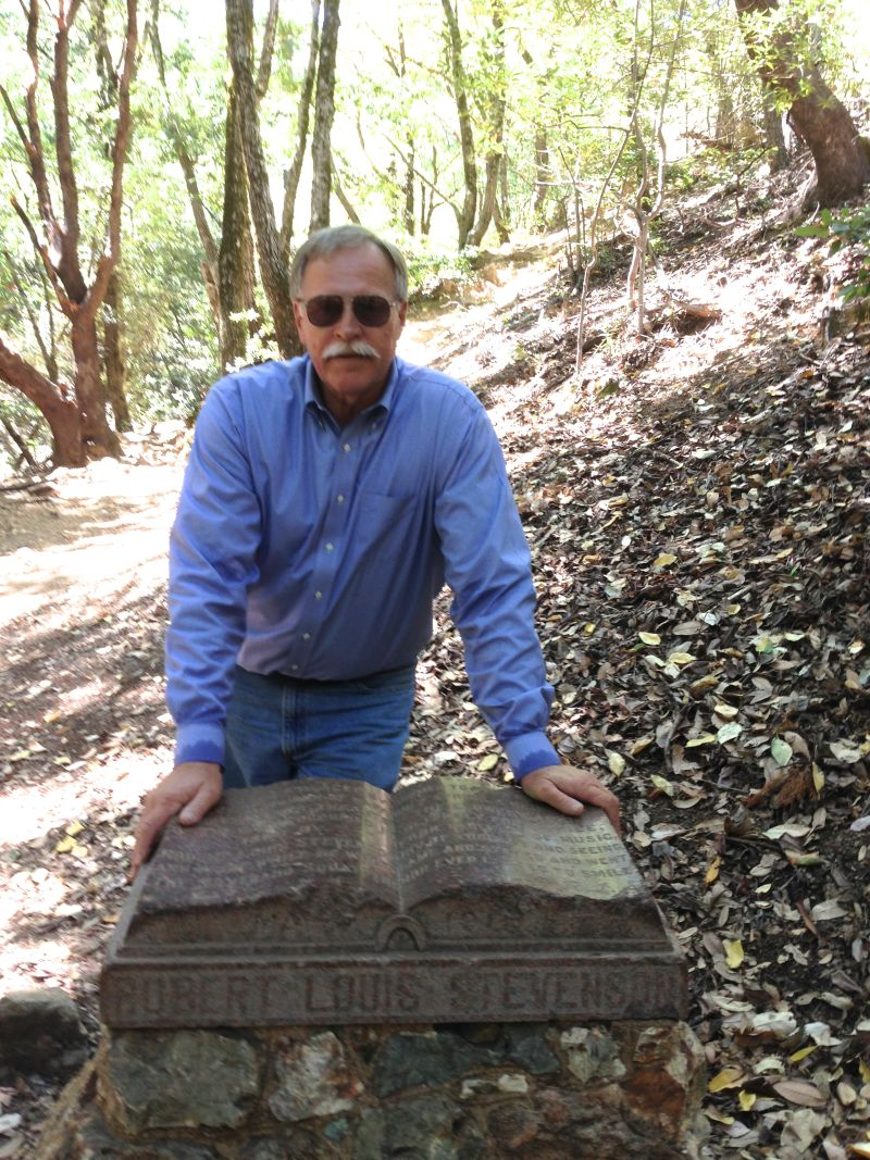NO. 710 ROBERT LOUIS STEVENSON STATE PARK - Monument