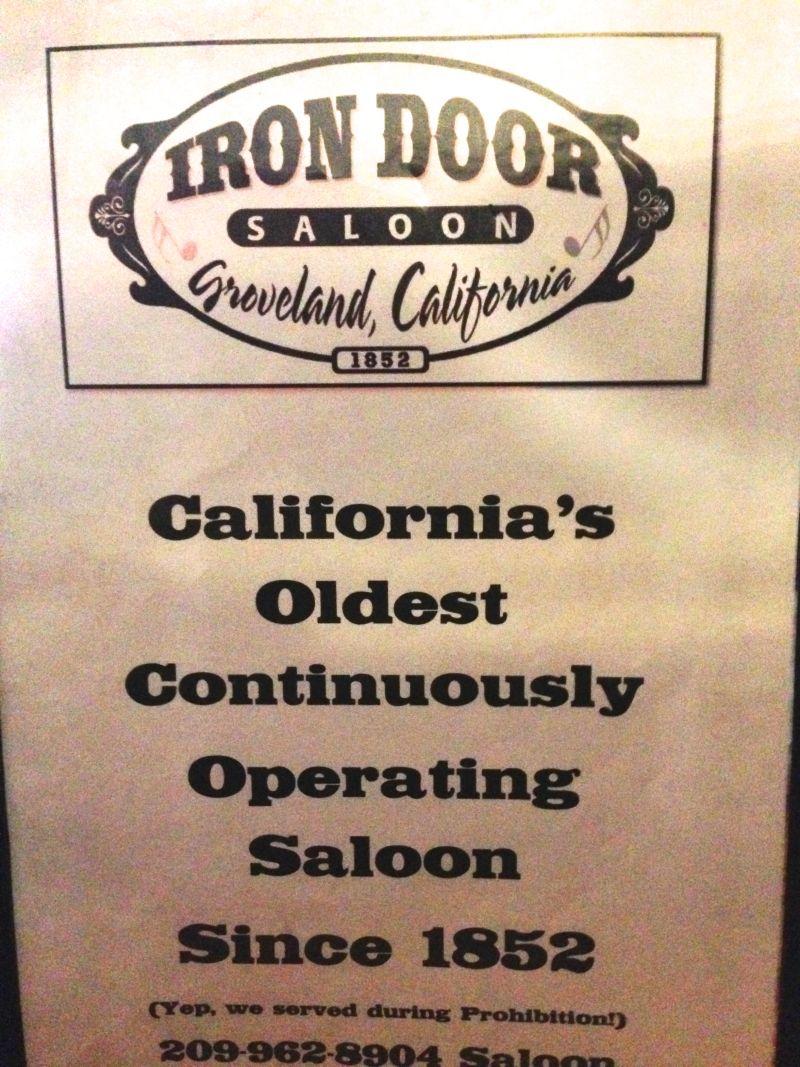 NO. 446 GROVELAND - Iron Door Saloon
