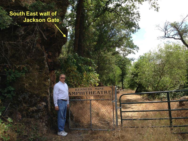 NO. 118 JACKSON GATE -  side of Jackson Gate.