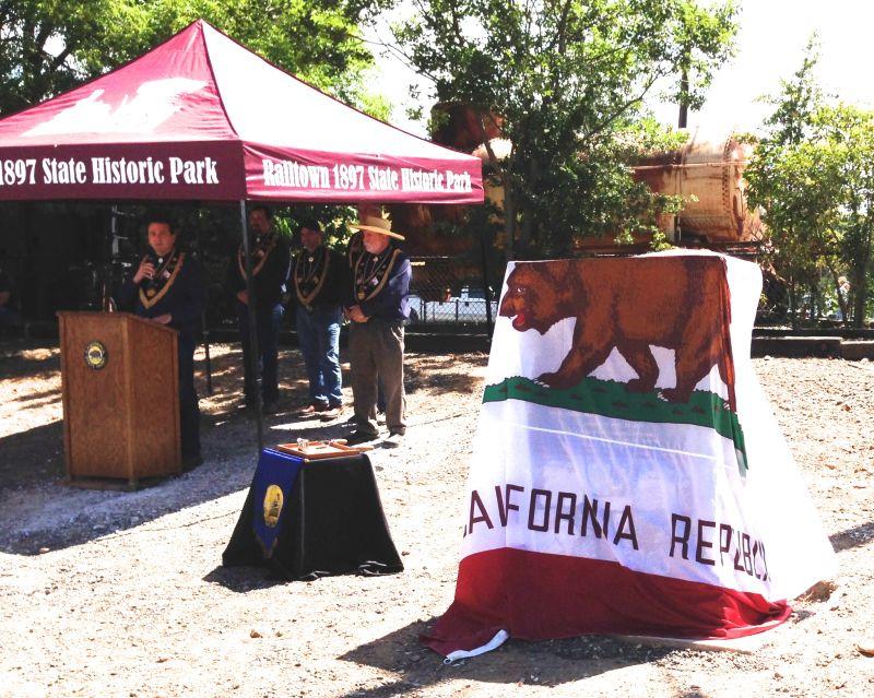 No. 1053 Sierra Railway Shops -  Dedication Ceremony, June 27, 2015