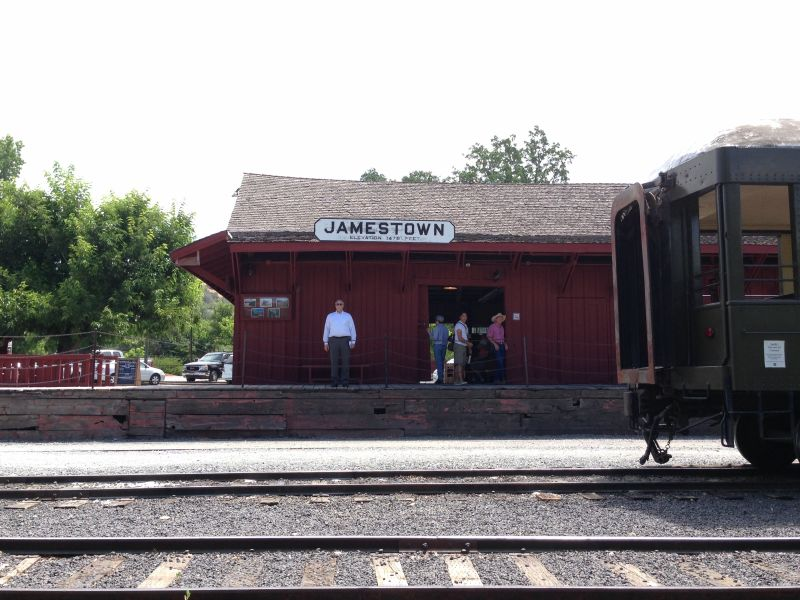No. 1053 Sierra Railway Shops - Train Station