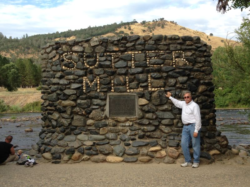 NO. 530 GOLD DISCOVERY SITE - Site of Sutter's Mill