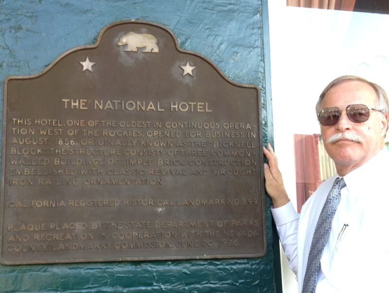 NO. 899 NATIONAL HOTEL - State Plaque