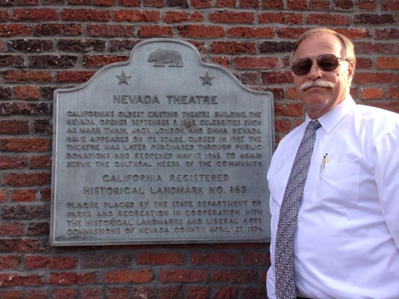 NO. 863 NEVADA THEATRE - State Plaque