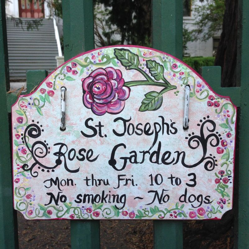NO. 855 MOUNT SAINT MARY'S CONVENT AND ACADEMY - Garden Hours