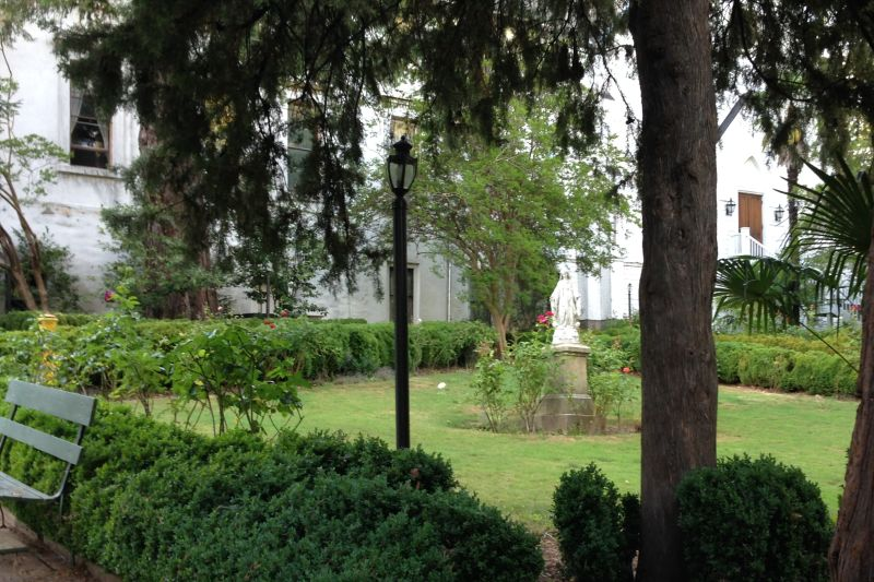 NO. 855 MOUNT SAINT MARY'S CONVENT AND ACADEMY - Garden