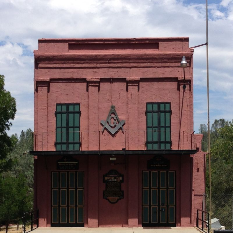 NO. 77 OLD TOWN OF SHASTA - Masonic Temple
