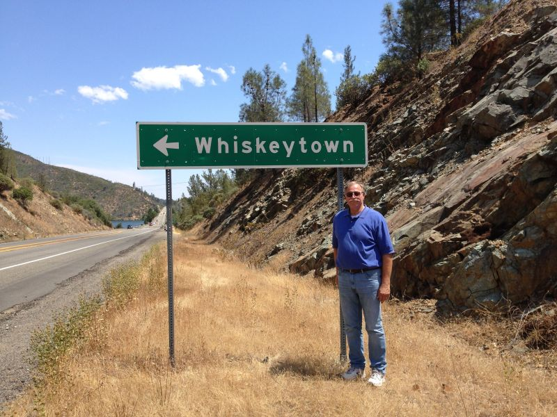 NO. 131 WHISKEYTOWN - !/4 mile east of the hwy