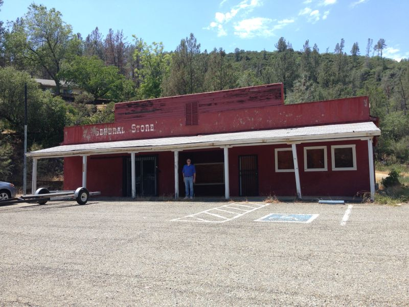 NO. 131 WHISKEYTOWN - The General Store has closed.