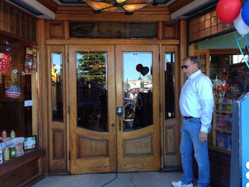 NO. 783 JACOBY BUILDING - Front doors