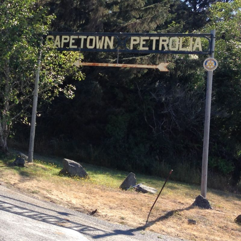NO. 543 CALIFORNIA'S FIRST DRILLED OIL WELLS - Road to Petrolia