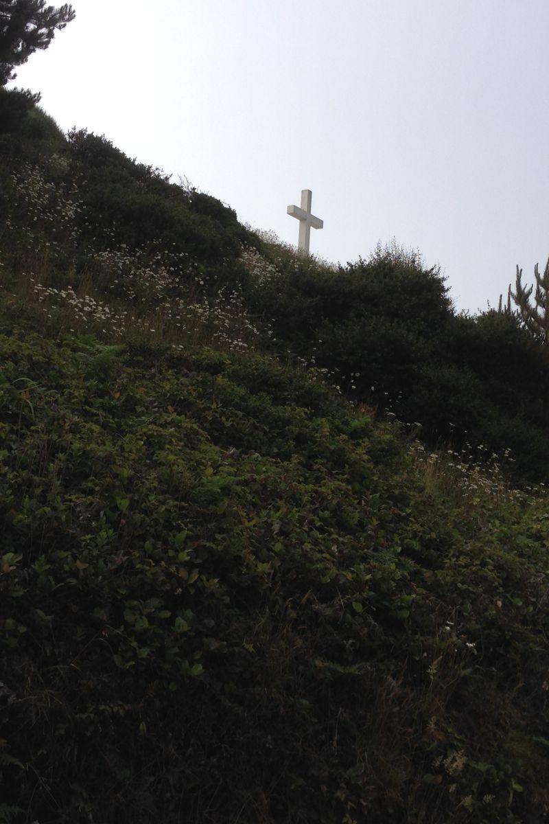 NO. 173 CENTERVILLE BEACH CROSS - As seen from Centerville Road