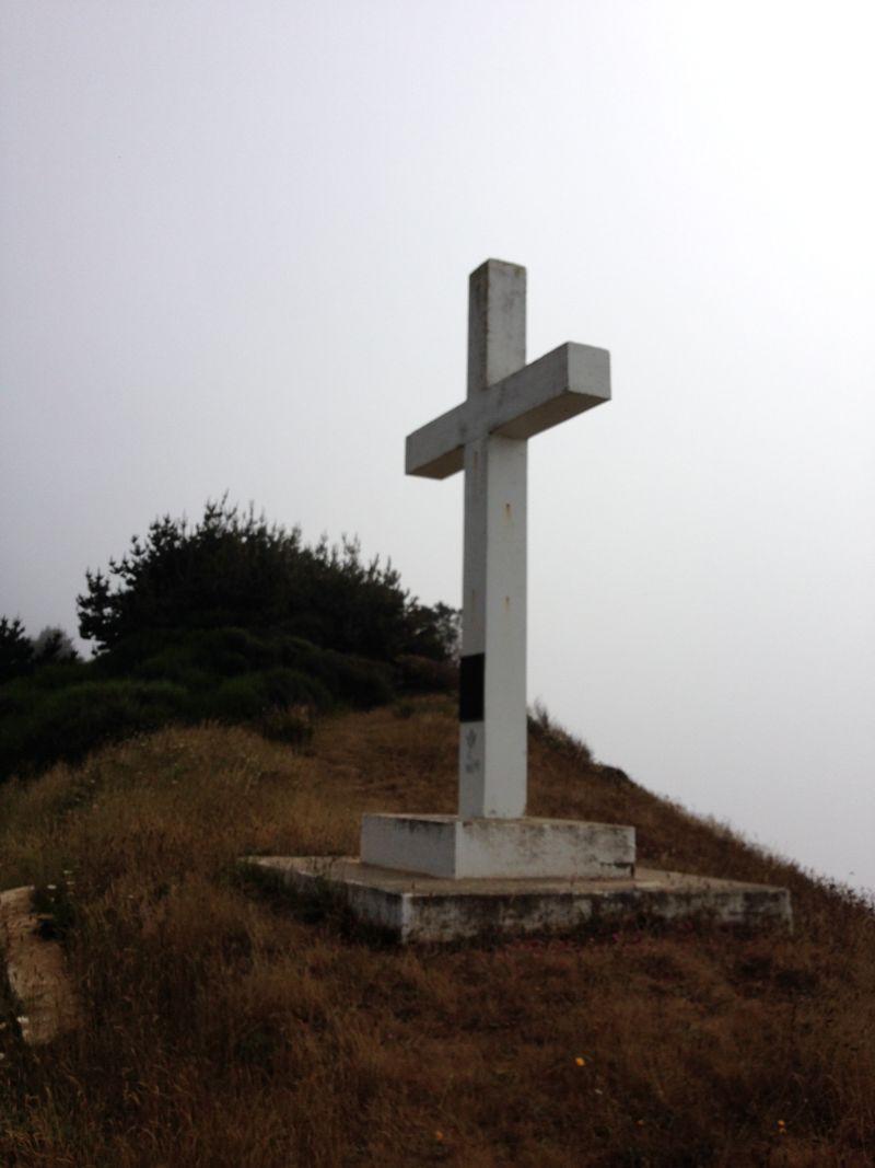 NO. 173 CENTERVILLE BEACH CROSS - Private plaque on cross