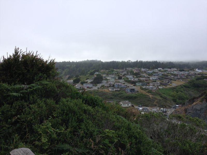 NO. 216 TOWN OF TRINIDAD - View from Trinidad Head