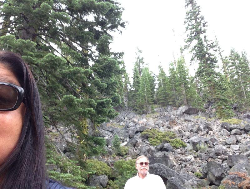 NO. 11 NOBLE PASS ROUTE - Fragments of Lassen Peak
