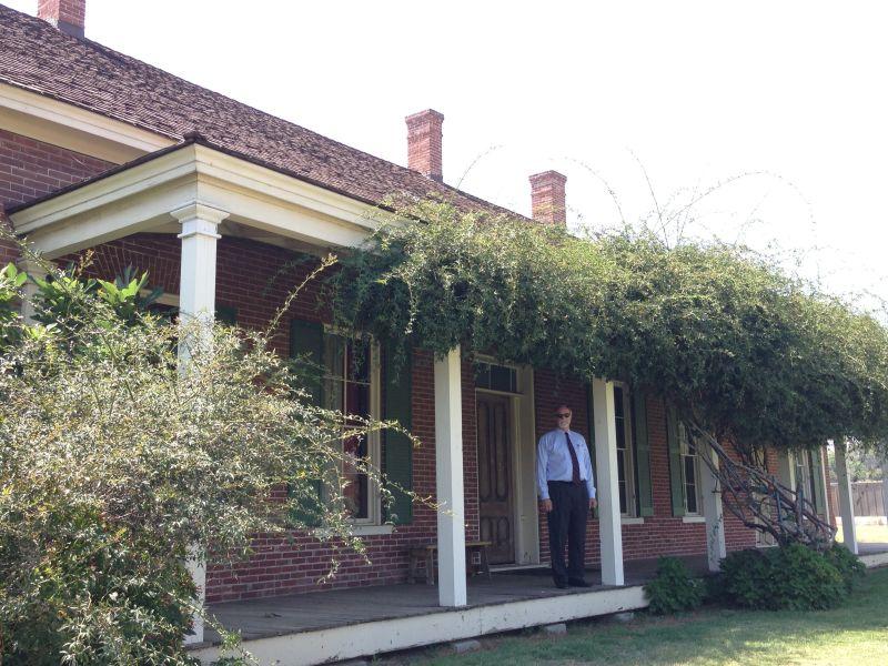NO. 943 JENSON RANCH - Front porch