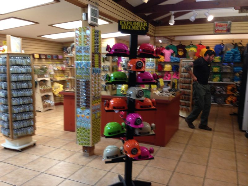 No. 1055 The Mystery Spot - Gift Shop