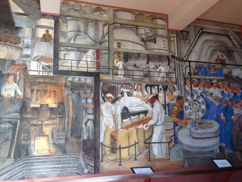 NO. 91 TELEGRAPH HILL - Coit Tower Lobby Mural
