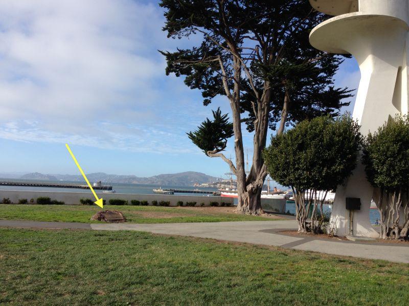 ENTRANCE OF THE SAN CARLOS INTO SAN FRANCISCO BAY - Aquadic Park