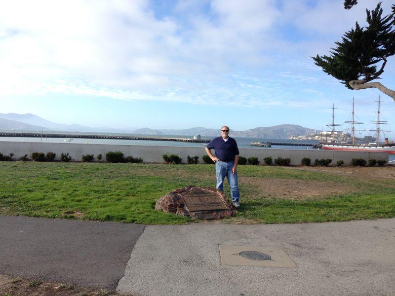 ENTRANCE OF THE SAN CARLOS INTO SAN FRANCISCO BAY - Marker