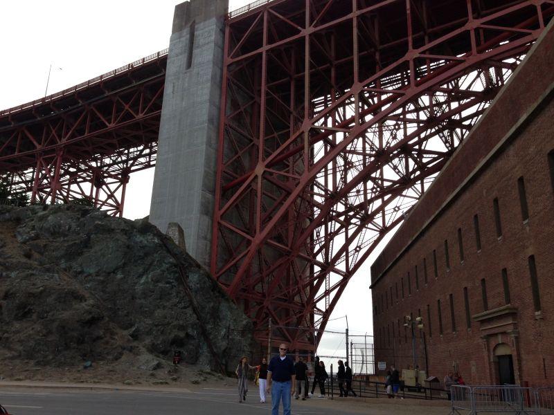NO. 82 SITE OF CASTILLO DE SAN JOAQUÍN - Under the Golden Gate Bridge