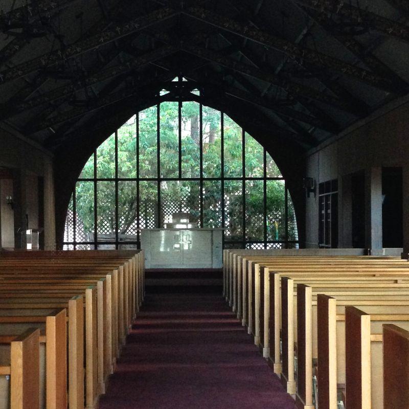 NO. 79  PRESIDIO OF SAN FRANCISCO – Chapel Interior