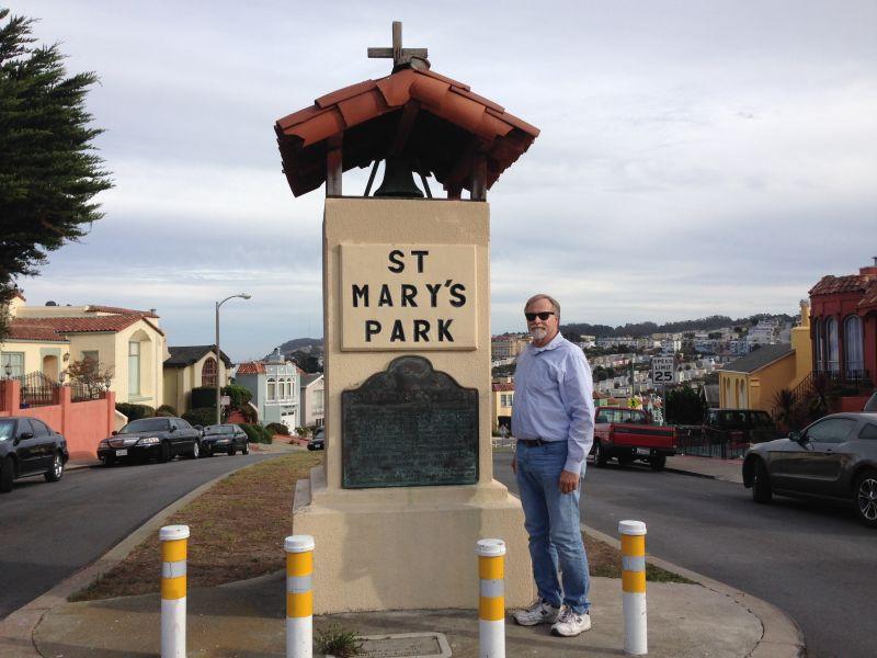 NO. 772 ORIGINAL SITE OF ST. MARY'S COLLEGE - Marker