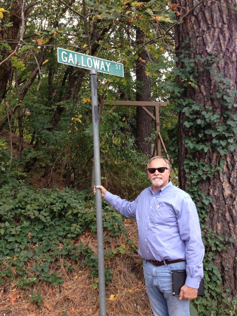 NO. 971 SIERRA COUNTY SHERIFF'S GALLOWS - Galloway Street
