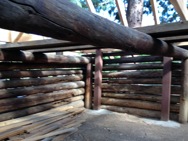 NO. 76 ROOP'S FORT - Interior