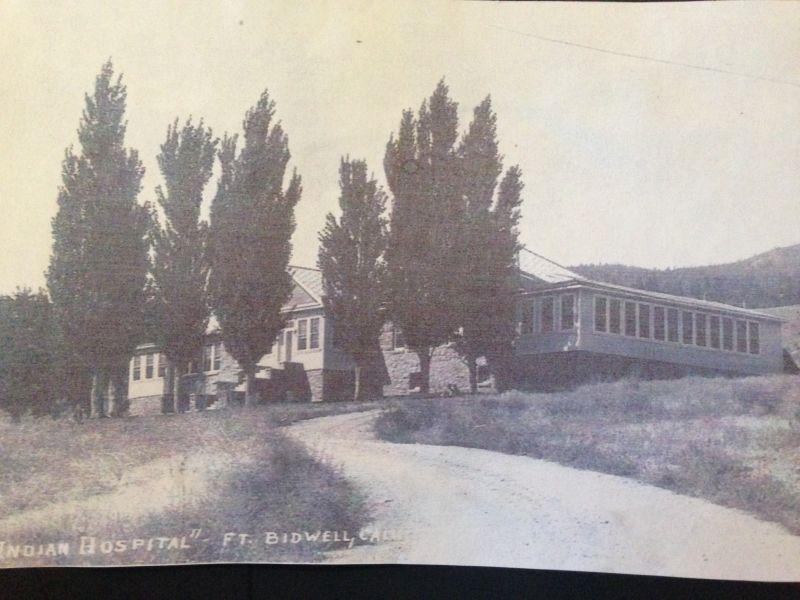 NO. 430 FORT BIDWELL - Original hospital