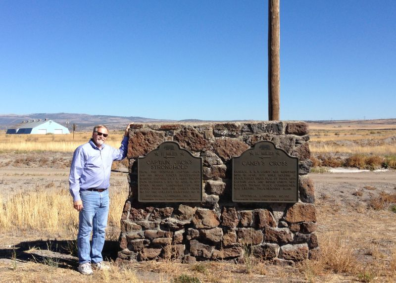 NO. 110 CANBY'S CROSS- First Marker