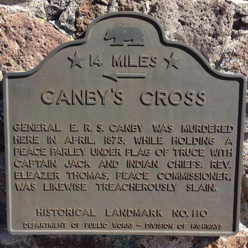 NO. 110 CANBY'S CROSS- First State Plaque