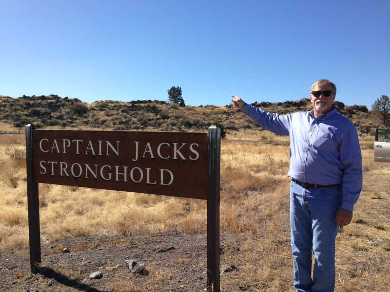 SignNO. 9 CAPTAIN JACK'S STRONGHOLD - Park Sign