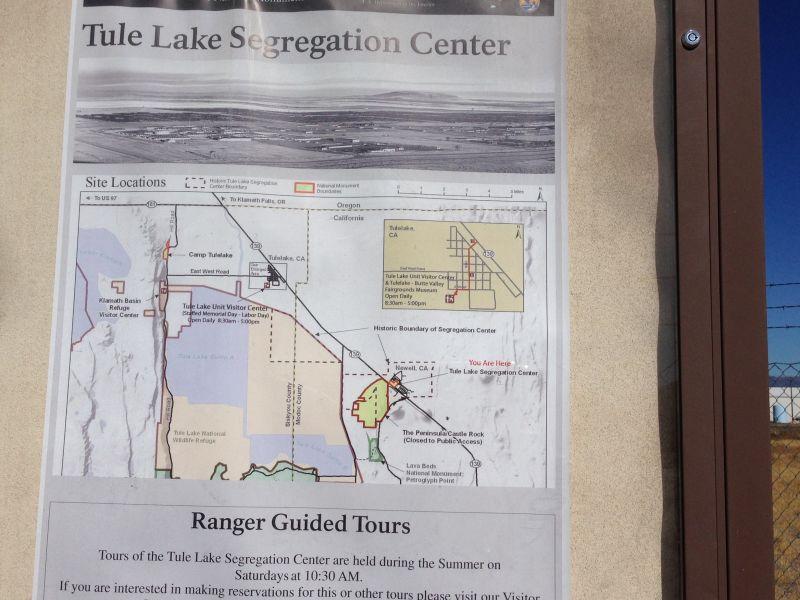 NO. 850-2 TULE LAKE RELOCATION CENTER
