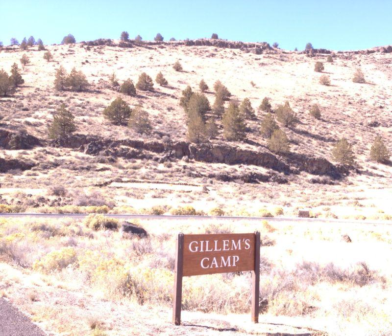 NO. 13 GUILLEM'S GRAVEYARD - Park Sign