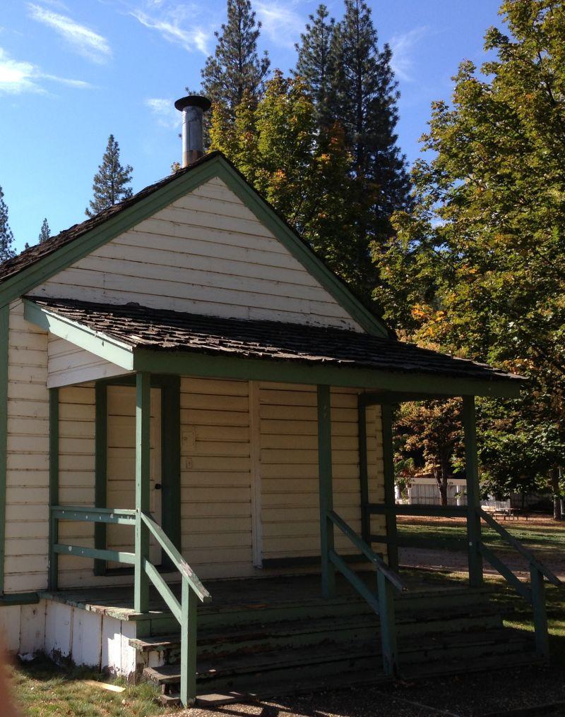 NO. 625 PIONEER SCHOOLHOUSE - Rear