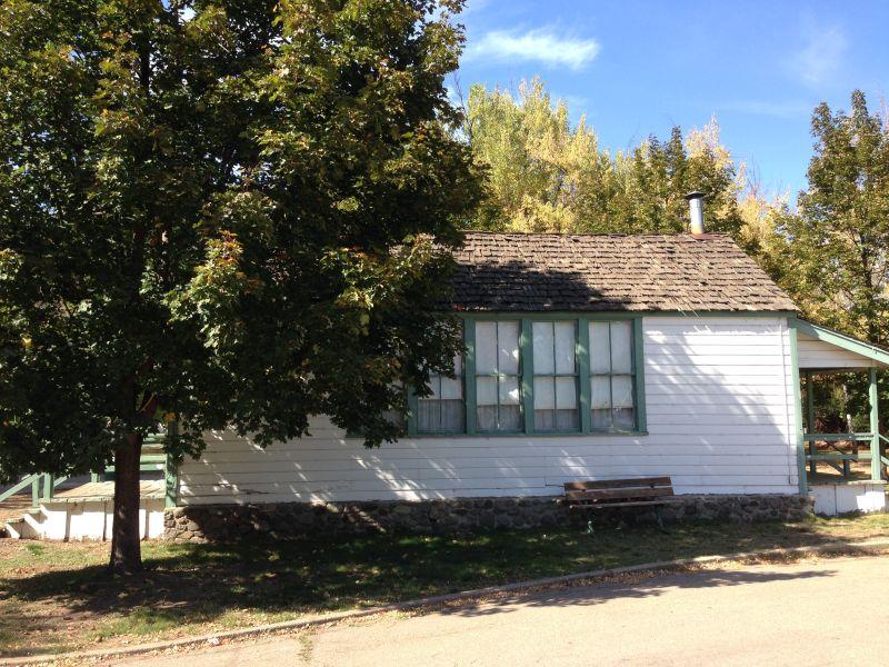 NO. 625 PIONEER SCHOOLHOUSE - Side