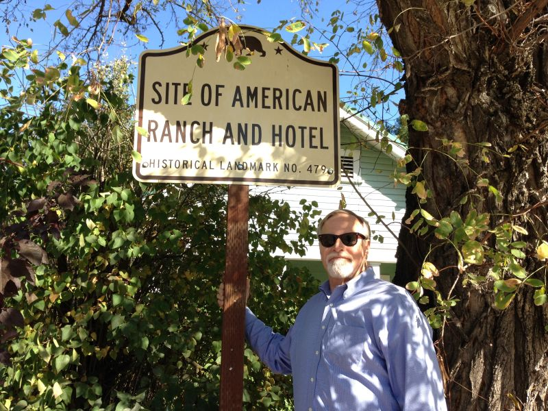 NO. 479 SITE OF AMERICAN RANCH AND HOTEL - State Street Sign