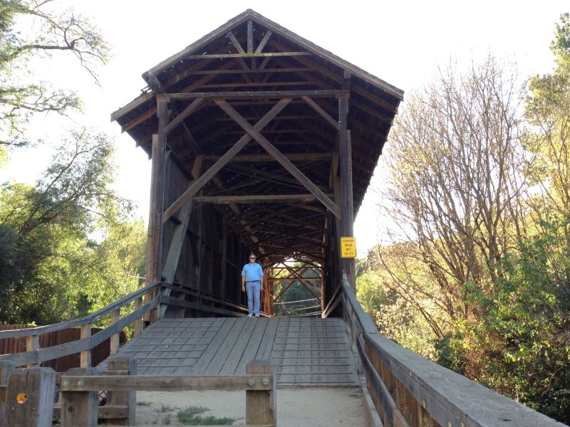 NO. 583 FELTON COVERED BRIDGE