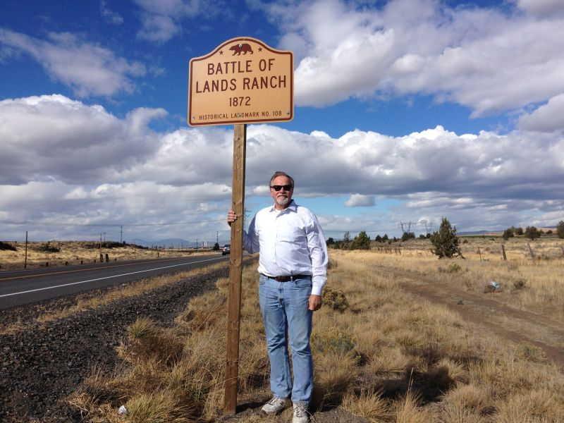 NO. 108 BATTLE OF LAND'S RANCH- Marker