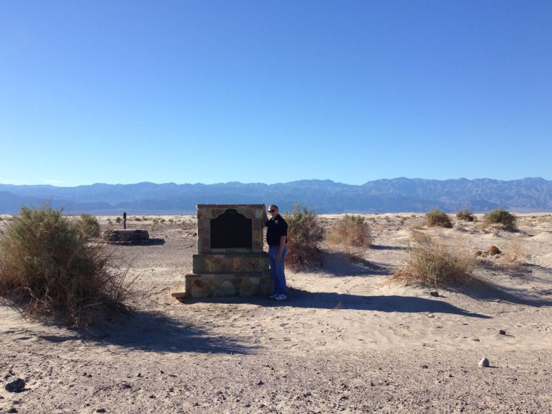 NO. 826 OLD STOVEPIPE WELLS