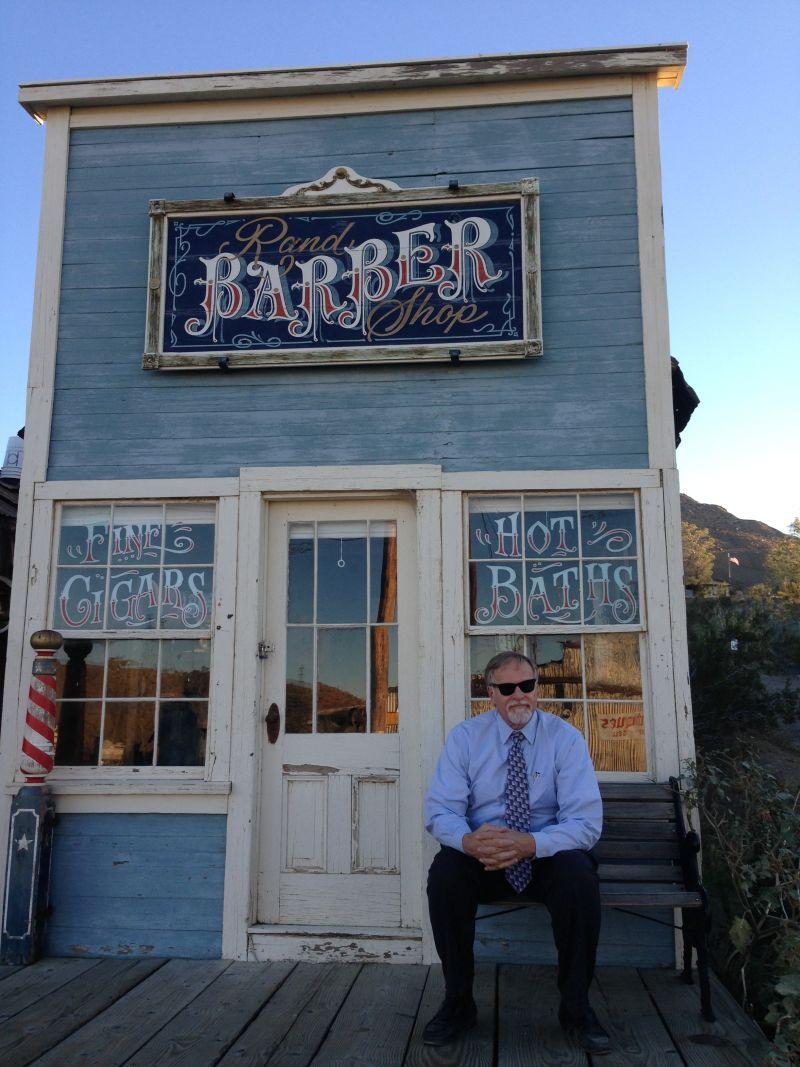 NO. 938 RAND MINING DISTRICT - Barber Shop
