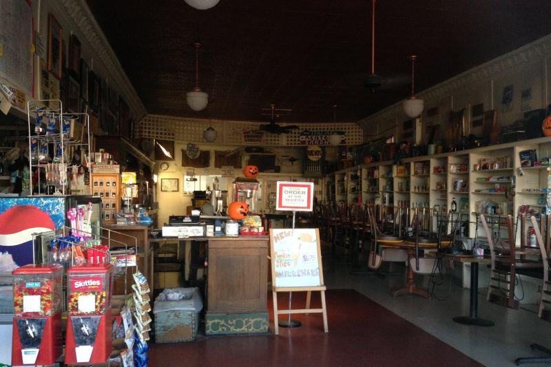 NO. 938 RAND MINING DISTRICT - General Store & Soda Shop interior