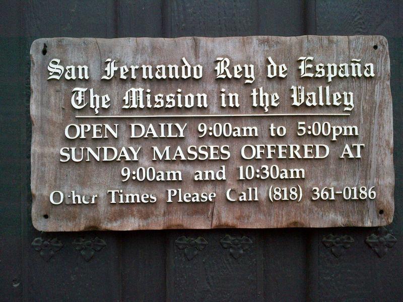 CHL #157: Mission San Fernando Rey de España