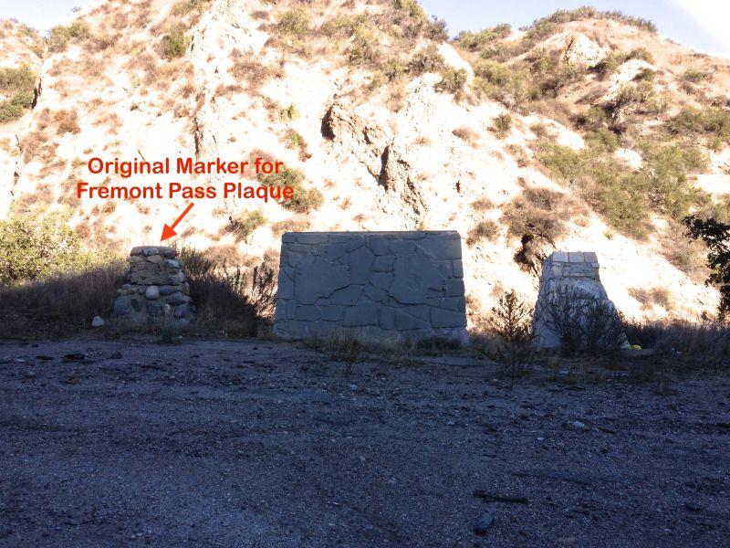 CHL 3 1006 BEAL'S CUT STAGECOACH PASS - Original Fremont Pass Marker