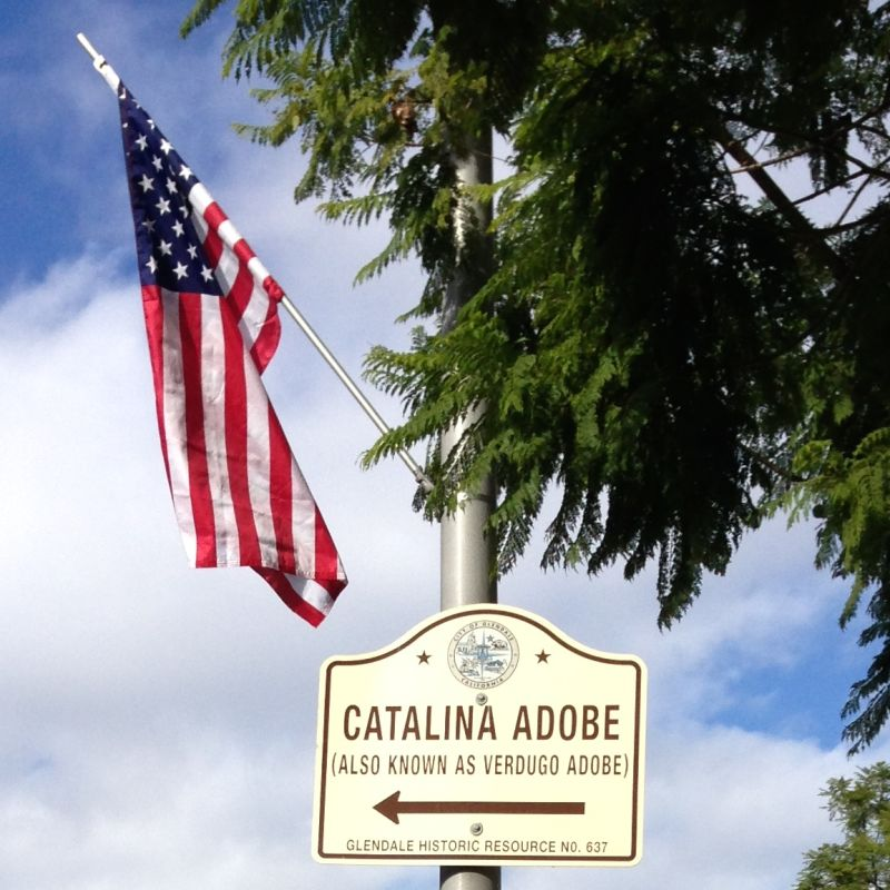 NO. 637 CATALINA ADOBE - State Street Sign