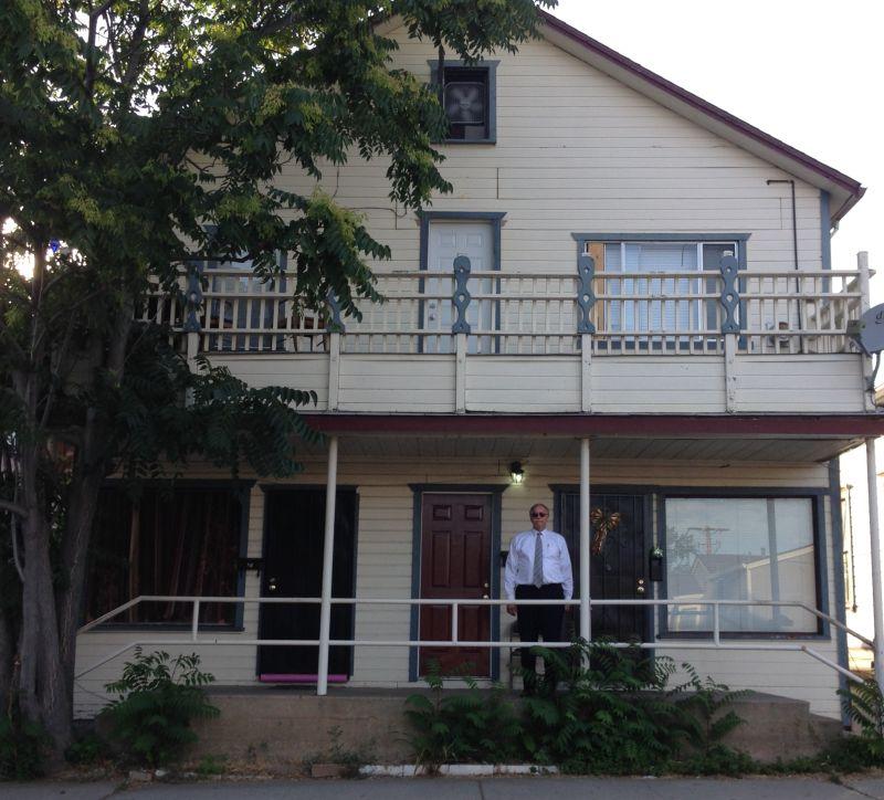 NO. 293 HOME OF LOTTA CRABTREE