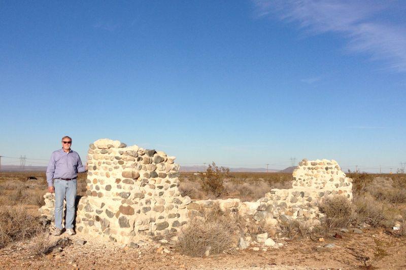 CHL No. 933 Llano Del Rio - Remains